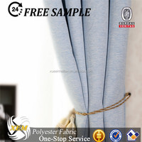 Polyester Cationic Blackout curtain fabric
