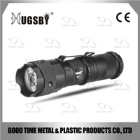 Hugsby high quality waterproof aluminum tactical flashlight (torch) XRE Q5 LED