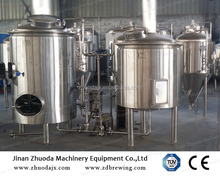 400l brewing system with fermentation vessels and serving tanks