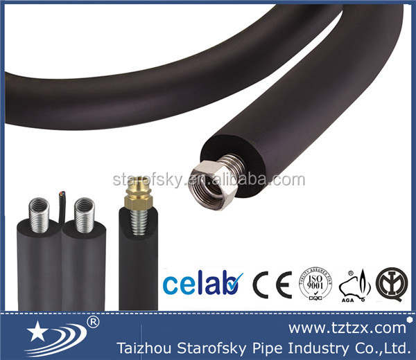 Pre insulated solar twin pipe for water heater hose