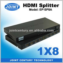 SCOTDIGITAL 1x8 HDMI splitter 1 input 8 output for Sky PS3 1080 15M