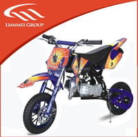 2 wheel mini dirt bike 49CC engine two stroke dirt bike
