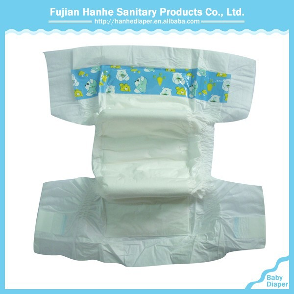 China Fabric Super-Absorbent Big Girls In Diapers