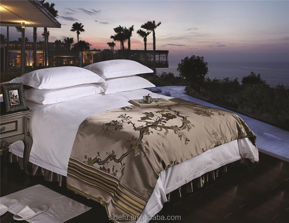hotel luxury bed linen set