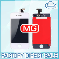 100% New spare parts for iphone 4 4g lcd assembly with touch screen