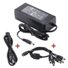 AC 100-240V 50-60HZ ac/dc adapter 12v 8a desktop power supply 12v 8a 96w power adapter with 5-Way Splitter Power cable