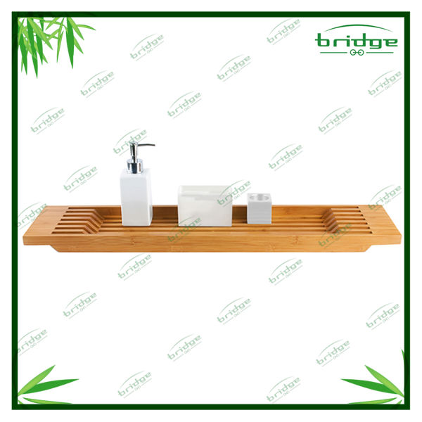 Home bamboo bathroom accessory
