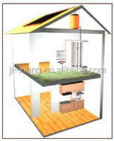 Lucky solar/Saparately High pressure Solar heating with working station.