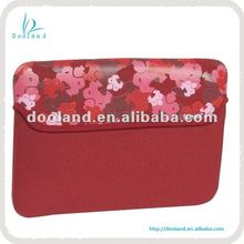 New flower print neoprene laptop sleeve