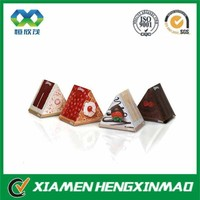 Custom triangle packaging ;cardboard triangle box for packaging