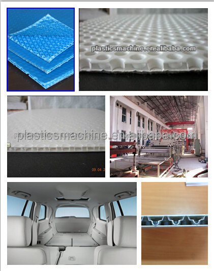Plastic PP decorate board production line