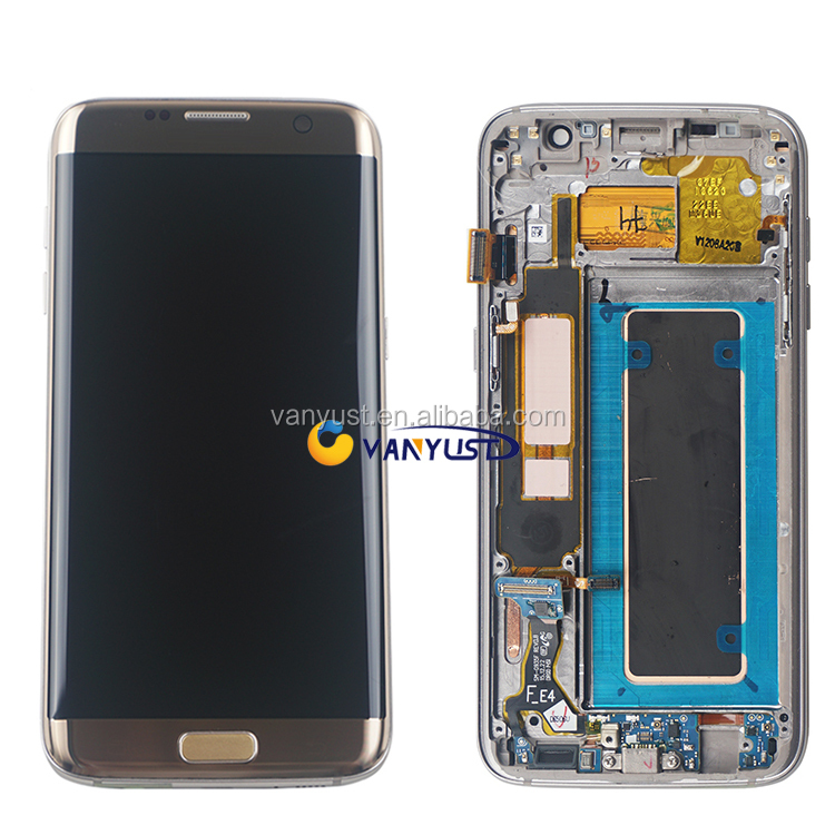 LCD Display Touch Screen With Original Frame Digitizer precio Replacement for Samsung Galaxy S7 edge G935 G935F G935A