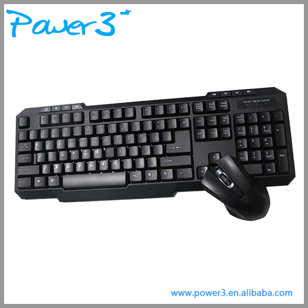 Cheap Wifi Wireless Gaming Multimedia Keyboard and Mouse with Custom Package