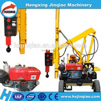 Hammer ramming machine guardrail pile driver