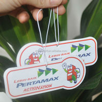 hanging paper flavour fragrance incense air fresheners car freshener