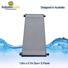 Sillicone rubber solar pool heater for swimming pool heating