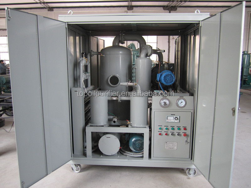 Through <strong>filtration</strong>, vacuum dehydration, degasification of Electrical Insulating Liquids purification machine