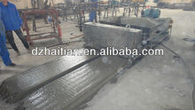 concrete hollow core slab extruder
