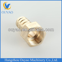 G 1/2 Hose Brab Fitting OD16mm Factory Direct.Copper Brass Pipe Fitting. China Manufacture