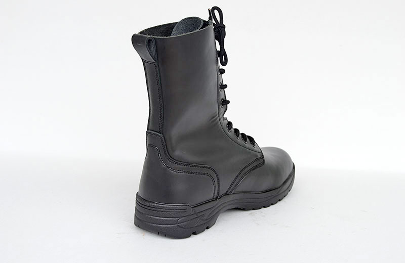 Loveslf tactical army police outdoor combat boots hight cut leather boots