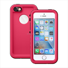 Hard Silicon Cell Phone Shockproof Smartphone Waterproof Phone Bags Cases for iPhone 5 5s SE