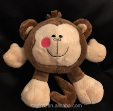 Koala Baby Brown Monkey Plush Toy/Stuffed Monkey Animal Giggles Laughs Toy