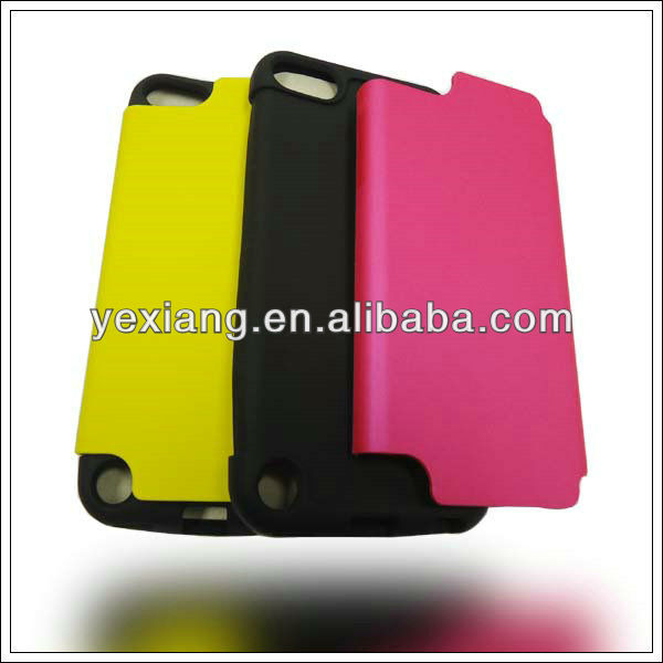 New arrival rubber hard cover for Ipod touch 5 cases