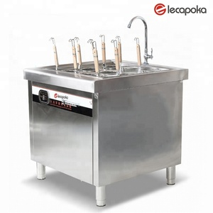 12KW industrial pasta Cooker Machine commercial Pasta Cooker With Cabinet.