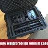 Shanghai Tricases watertight DJI Ronin-m case with professional foams