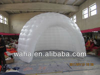 2013 new brand creative inflatable dome tent with led light