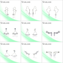 Starland Wholesale Hot Sell Wholesale Hot New Silver Earring Jewelry Castings
