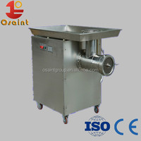 manual meat grinder for meat grinding and meat mincing in sausage making