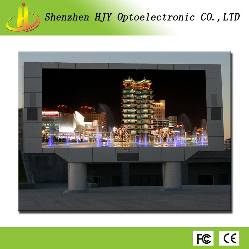 Super HD professional manufacture p6 outdoor advertising led display