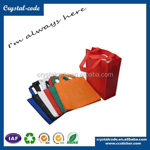 Wholesale Custom Print PP Non Woven Shopping T-shirt Bag