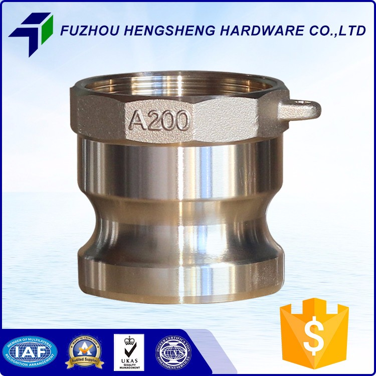 Top Sale Guaranteed Quality Male Threaded Brass Coupling