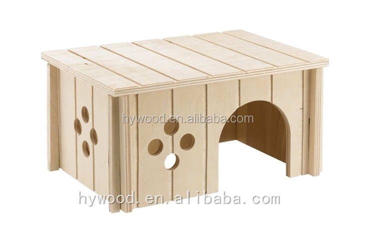 Lightweight Unfinished Cheap Dog Plywood Pet House Supplier