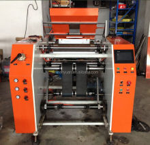 Stretch film automatic rewinder,jumbo rolls stretch film rewinder slitter machine