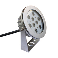 Wholesale IP68 led swimming pool lamp 3-54w RGB underwater light