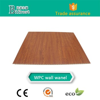 Environmental protection building materials wpc board pvc wall panel