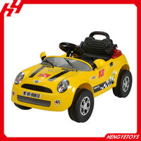 Three colors RC ride on toy car Baby car for kid rc car light music BT-003542