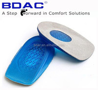 TPE Gel Heel Insole shoe massage heel pad cushion