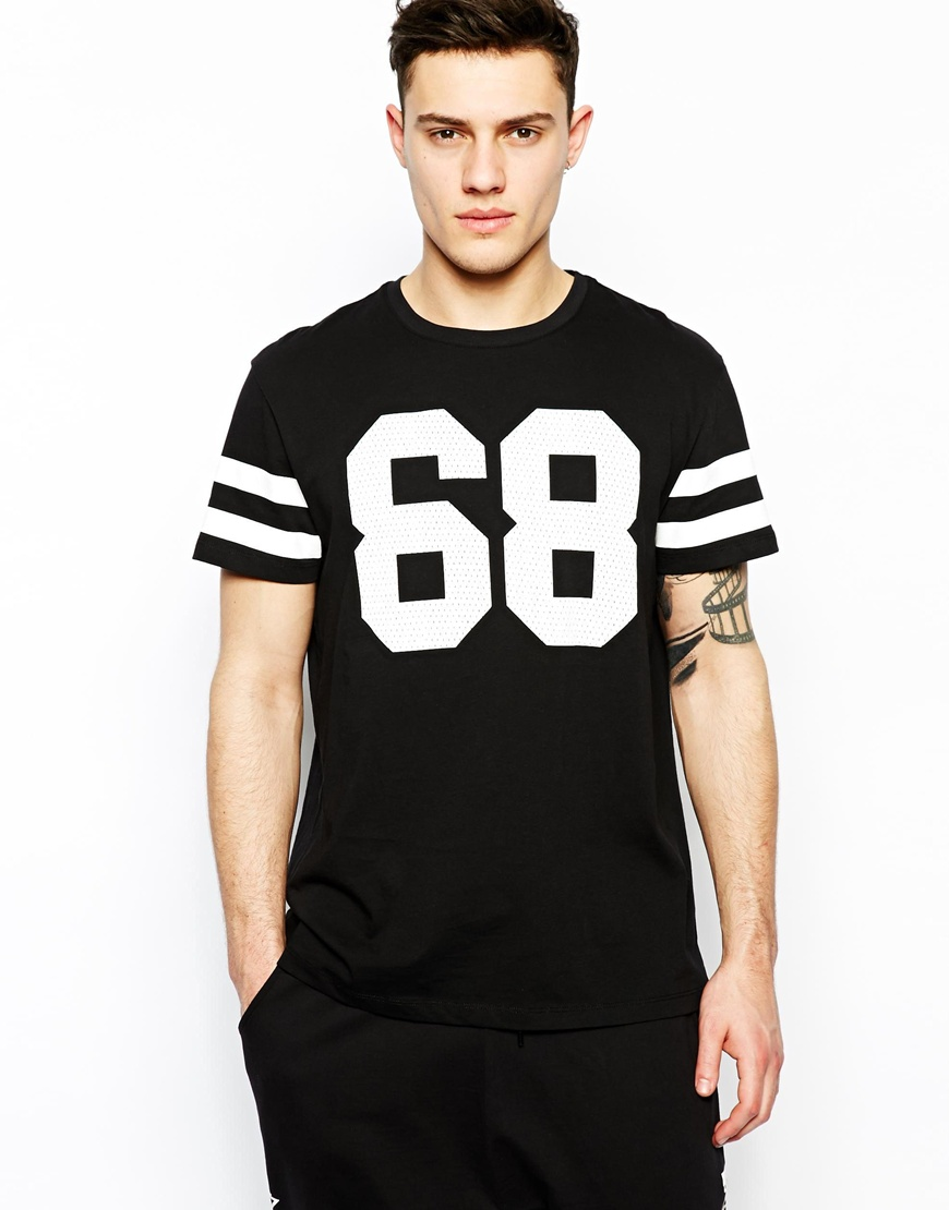 T-shirt Sets Mesh Printed T Shirts For Men