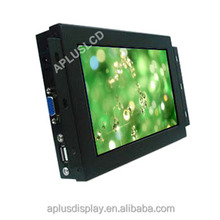 Long Life Time Capacitive 10 points touch Touch Screen 7 inch VGA Open Frame Monitor TFT LCD Display for ATM VIM AFC