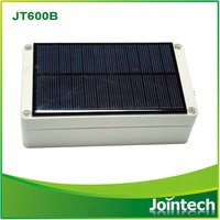 GPS GSM tracker with solar panel chargeable system/ waterproof IP67 trailer / wagon,/container tracking
