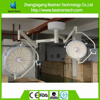 BT-LED755 China manufacturer CE ISO hospital two heads hospital led operation theatre light