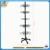 Floor-standing Metal Water Bottle Retail Display Rack