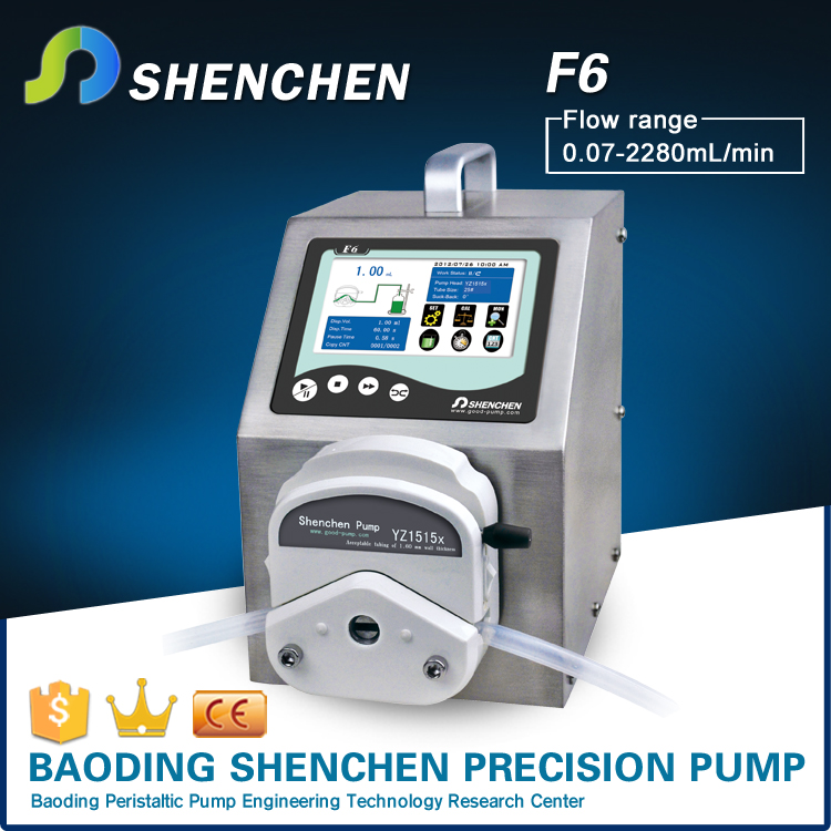 CE Certificated perfume filling machine peristaltic pumps