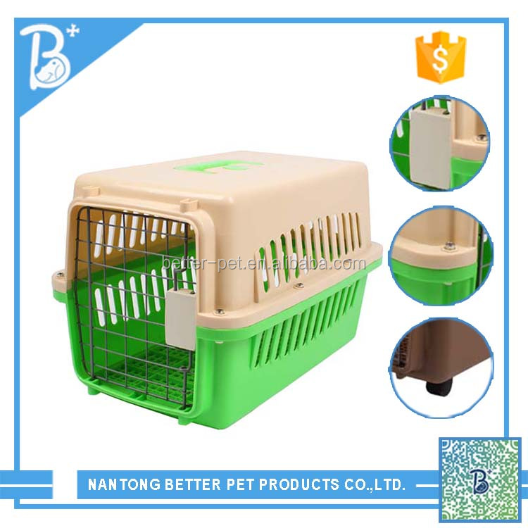 Hot Designer Pet Travel Plastic Innovator Dog Carrier dog cage