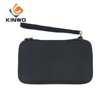 High-quality pu leather carrying case, black EVA case with SD card case
