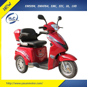 tricycle for handicap triciclo electrico 3 wheel scooters for adults